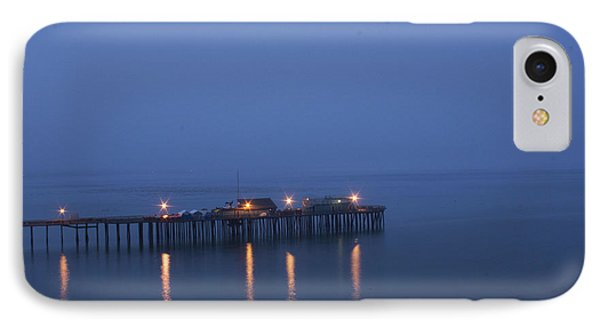 Evening Enters Capitola IPhone Case by Lora Lee Chapman