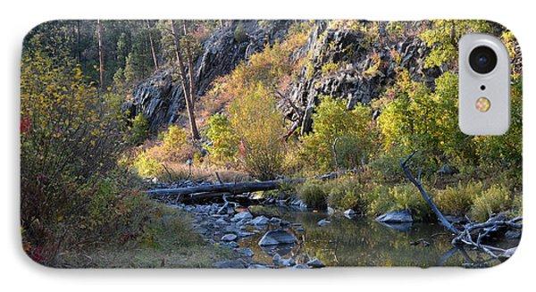 Evening Falls On Spring Creek IPhone Case