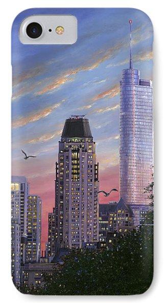 Evening Flight IPhone Case by Doug Kreuger