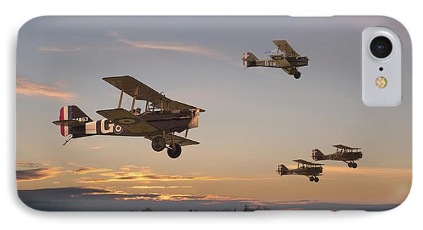 Evening Flight IPhone Case by Pat Speirs