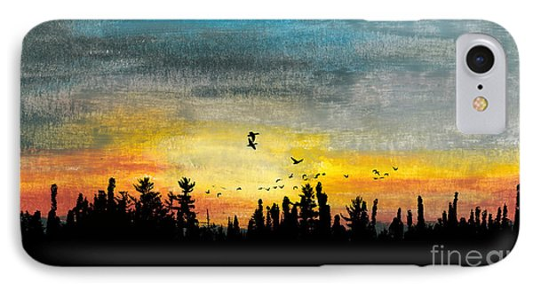 Evening Freedom IPhone Case by R Kyllo