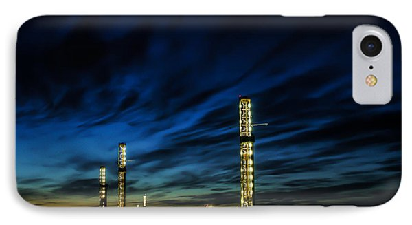 Evening Glory 2 IPhone Case by Jim McCain