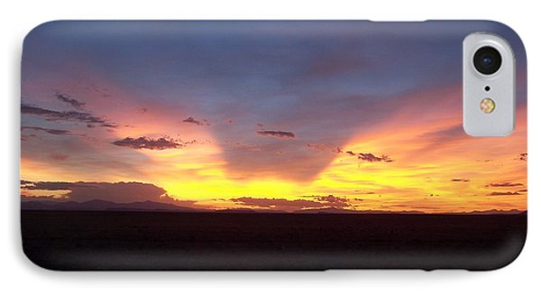 Evening Glow IPhone Case by Sheri Keith