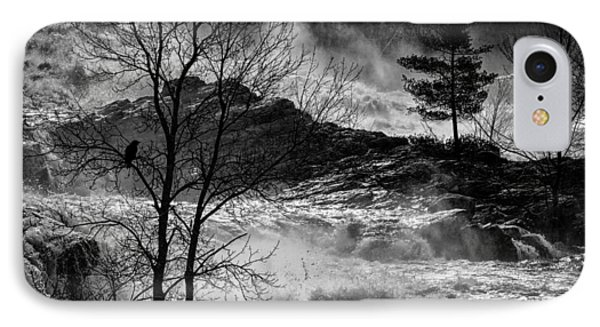 Evening Great Falls Maine Phone Case by Bob Orsillo