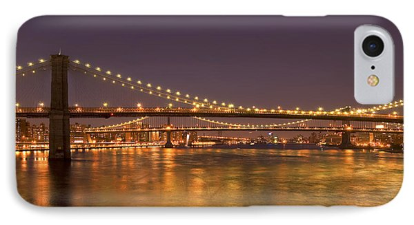 Evening II New York City Usa Phone Case by Sabine Jacobs