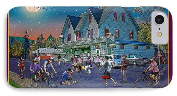 Evening In Campton Village Phone Case by Nancy Griswold