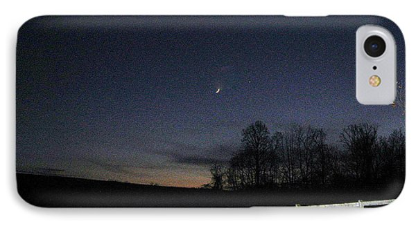 Evening In Horse Country IPhone Case by Judith Morris