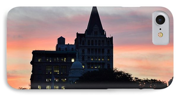 Evening In New York Phone Case by Sonali Gangane