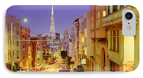 Evening In San Francisco, San IPhone Case by Panoramic Images