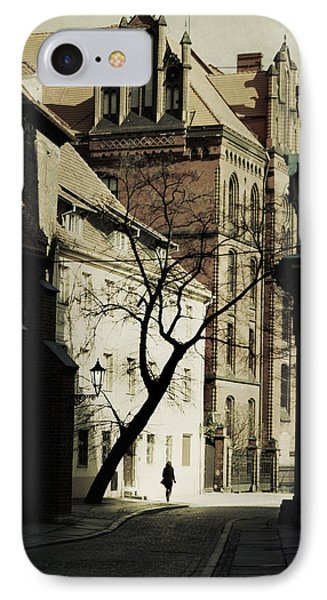 Evening In Wroclaw IPhone Case by Cambion Art