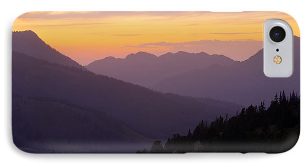 Evening Layers IPhone Case by Chad Dutson