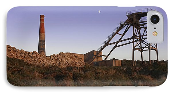 Evening Light At Botallack Phone Case by Terri Waters