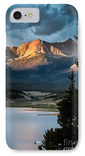 Evening Light IPhone Case by Jim McCain