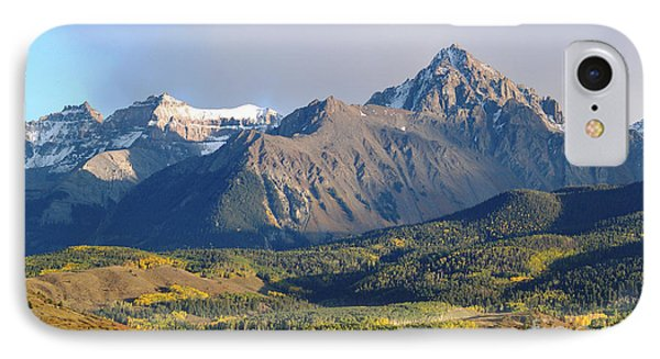 Evening Light On The Sneffels Range Phone Case by Alex Cassels