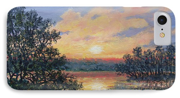 Evening Marsh Light IPhone Case by Kathleen McDermott