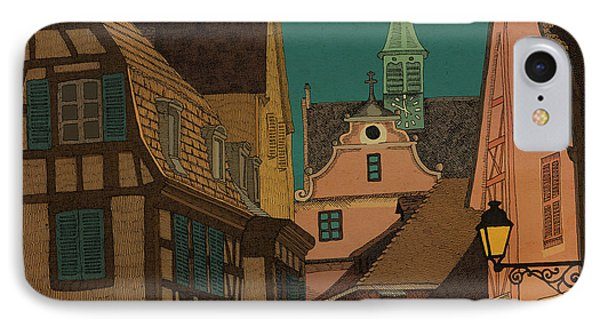 Evening IPhone Case by Meg Shearer