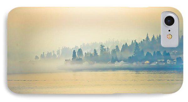 Evening Mist Settles In IPhone Case by Ronda Broatch