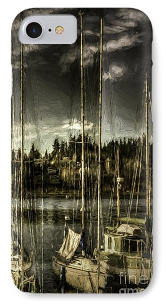 IPhone Case featuring the photograph Evening Mood by Jean OKeeffe Macro Abundance Art