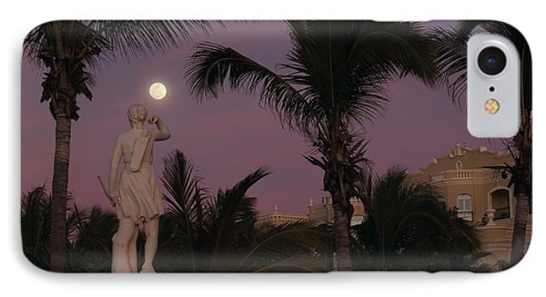 Evening Moon Phone Case by Shane Bechler