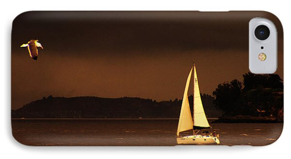 IPhone Case featuring the photograph Evening Near Sausalito  by Chuck Caramella