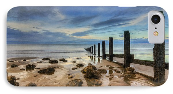 Evening Ocean IPhone Case by Ian Mitchell
