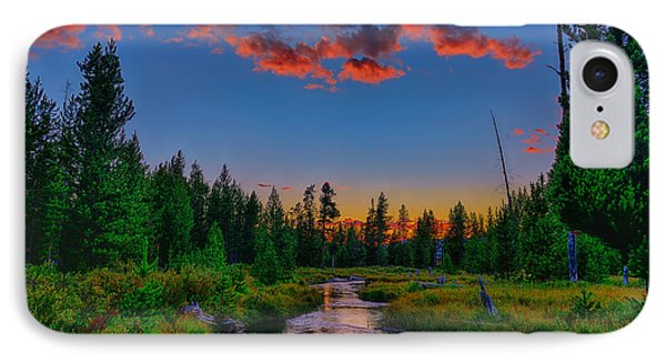 Evening On Lucky Dog Creek IPhone Case
