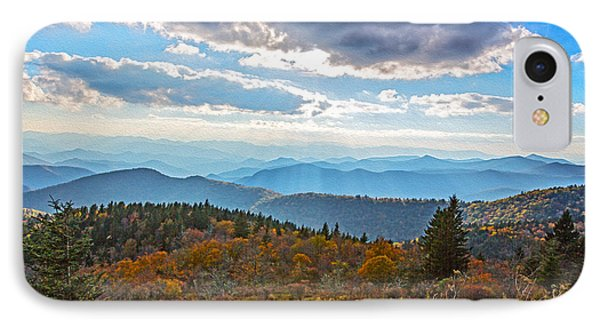 Evening On The Blue Ridge Parkway IPhone Case