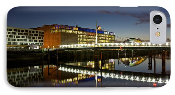 IPhone Case featuring the photograph Evening On The Clyde by Stephen Taylor