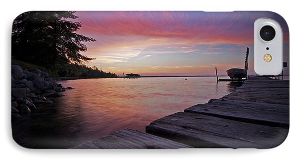 Evening On The Dock IPhone Case