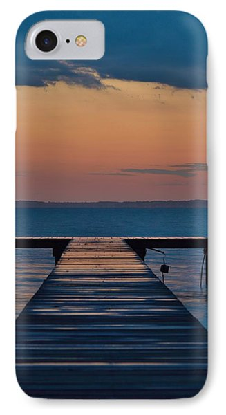 Evening Pier - Sunset Photo IPhone Case