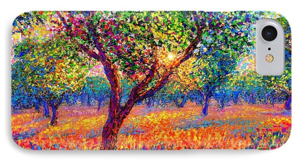 Impressionism iPhone 7 Case - Evening Poppies by Jane Small