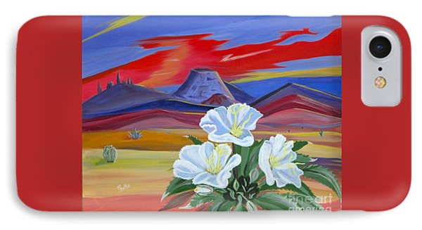 IPhone Case featuring the painting Evening Primrose by Phyllis Kaltenbach
