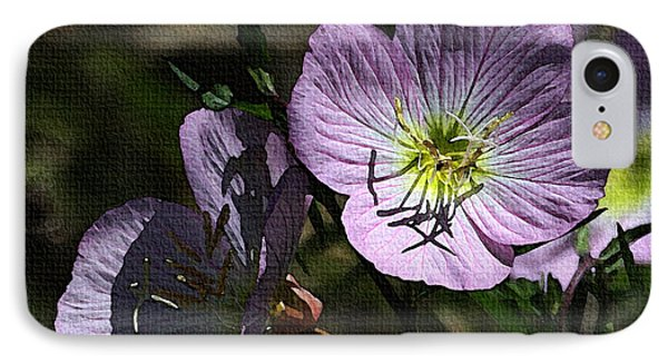 Evening Primrose IPhone Case by Tom Janca