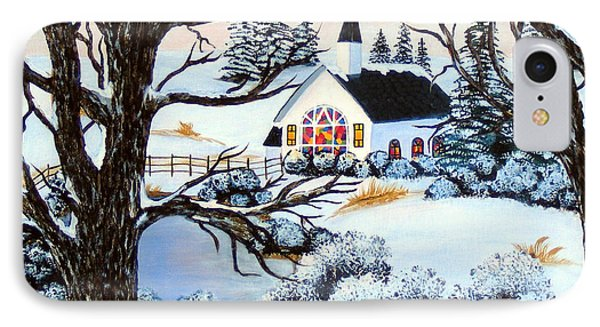 Evening Services IPhone Case by Barbara Griffin
