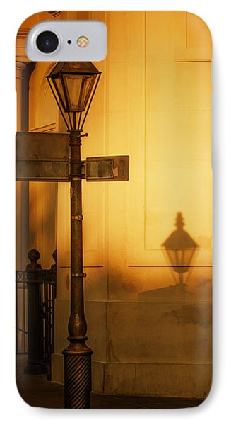 Evening Shadow In Jackson Square IPhone Case by Brenda Bryant