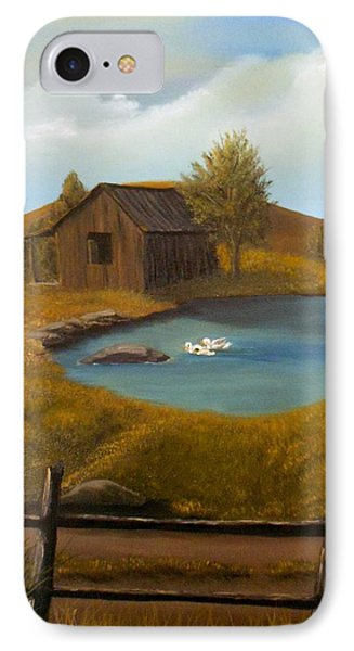 Evening Solitude IPhone Case by Sheri Keith