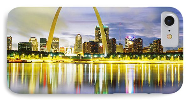 Evening, St Louis, Missouri, Usa IPhone Case by Panoramic Images