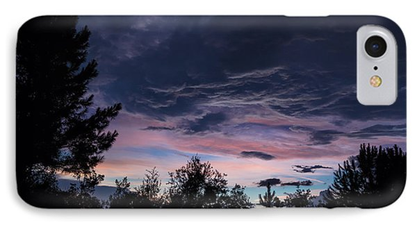 Evening Storm IPhone Case by Maria Robinson