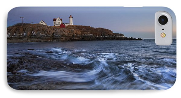 Evening Surf At Nubble IPhone Case