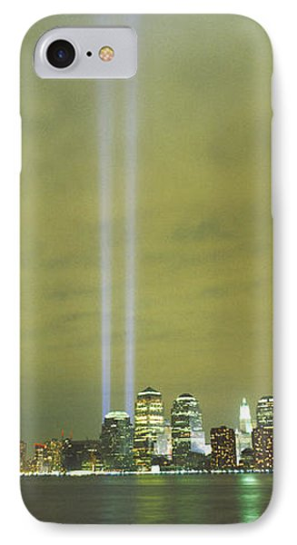 Evening, Towers Of Light, Lower IPhone Case
