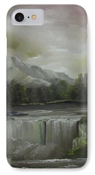 Evening Waterfalls IPhone Case