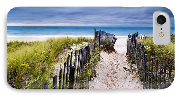 Flying Point Beach Vista IPhone Case by Ryan Moore
