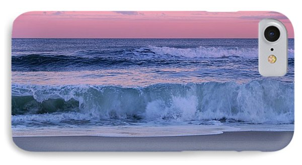 Evening Waves - Jersey Shore IPhone Case by Angie Tirado