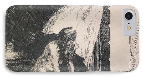 Evening Wind IPhone Case by Edward Hopper