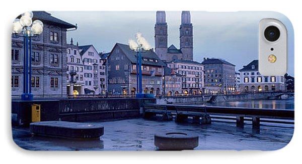 Evening, Zurich, Switzerland IPhone Case