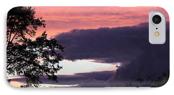 Evening's Colours IPhone Case by Patricia Hiltz