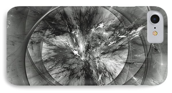 IPhone Case featuring the digital art Event Horizon by Arlene Sundby