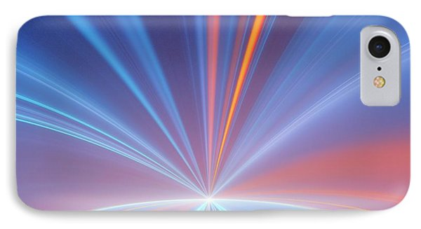 Event Horizon Conceptual Illustration IPhone Case by David Parker
