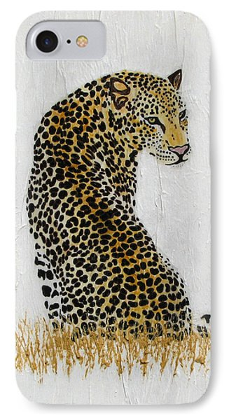 IPhone Case featuring the painting Ever Watchful by Stephanie Grant