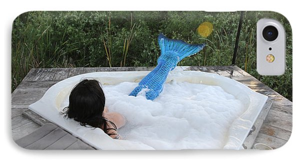 IPhone Case featuring the photograph Everglades City Florida Mermaid 017 by Lucky Cole